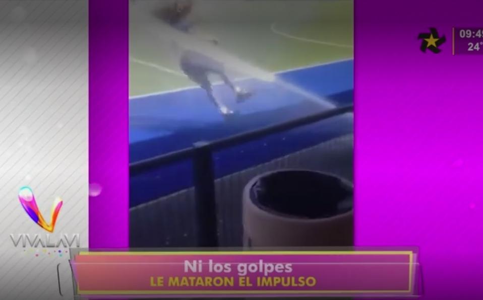 (+VIDEO) Ni los golpes le quitaron el impulso