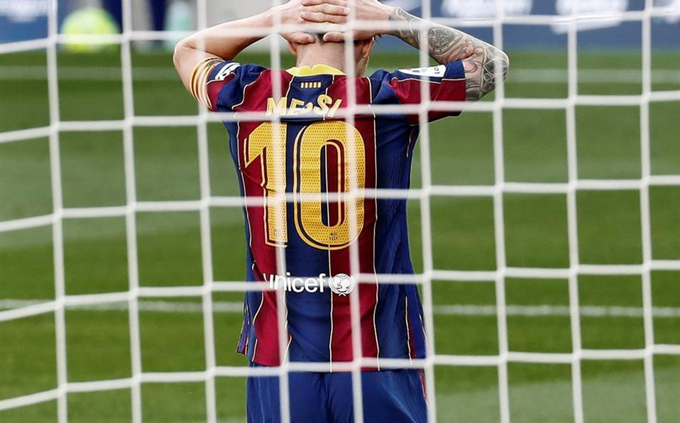 Messi sigue sin marcar en la etapa 'postCristiano'