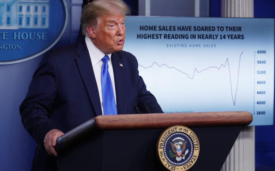 Casa Blanca dice que Trump muestra síntomas leves de coronavirus