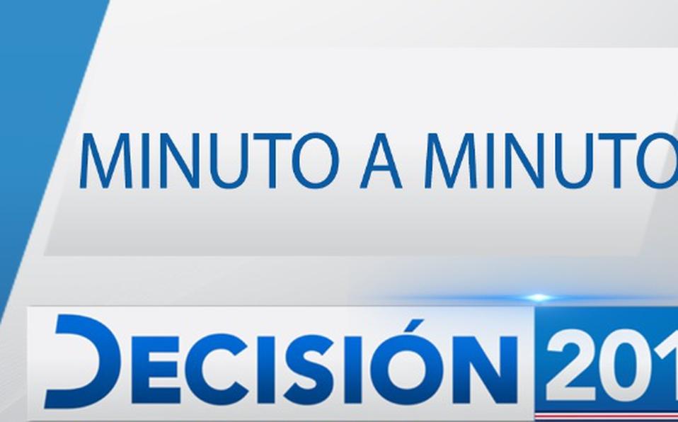 MINUTO A MINUTO: Segunda ronda electoral