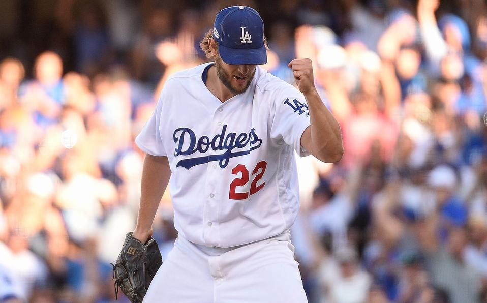 Kershow pone a los Dodgers a un juego de la Serie Mundial