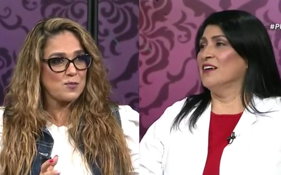 Maureen Salguero habla lo que sintió durante un microinfarto cerebral