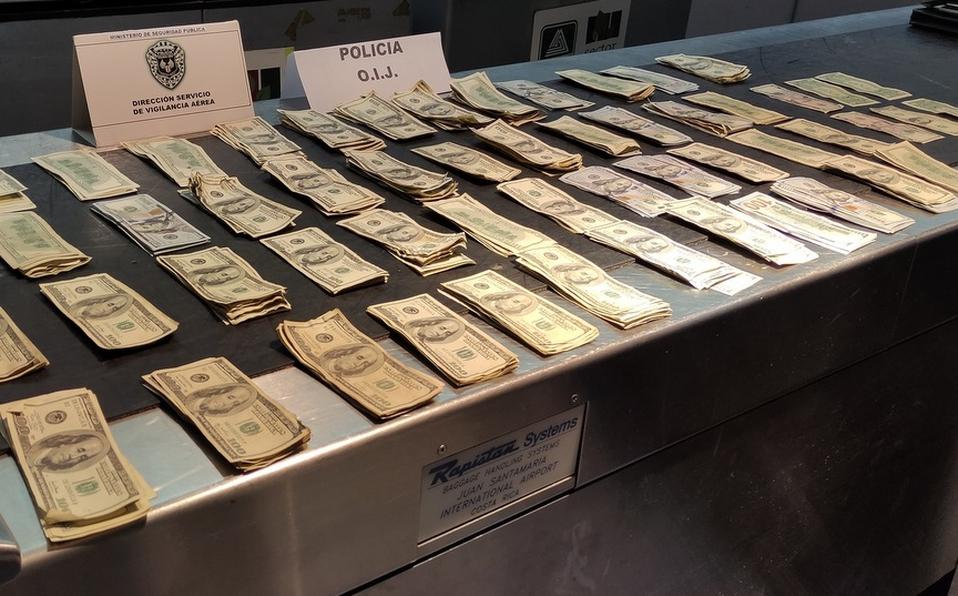 Pareja intentó ingresar al país con más48 mil dólares en efectivo. (Foto: MSP)