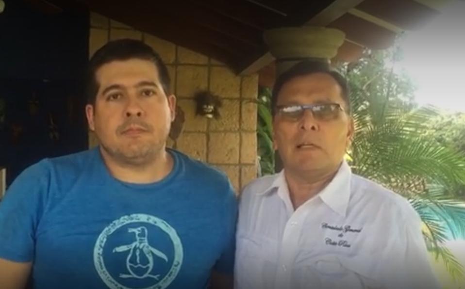 (+VIDEO) ¡Liberado! Allan Cordero se dirige a las autoridades de Costa Rica