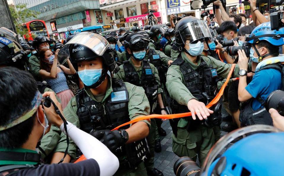 Nuevas protestas en Hong Kong contra el aplazamiento de comicios y la ley de seguridad