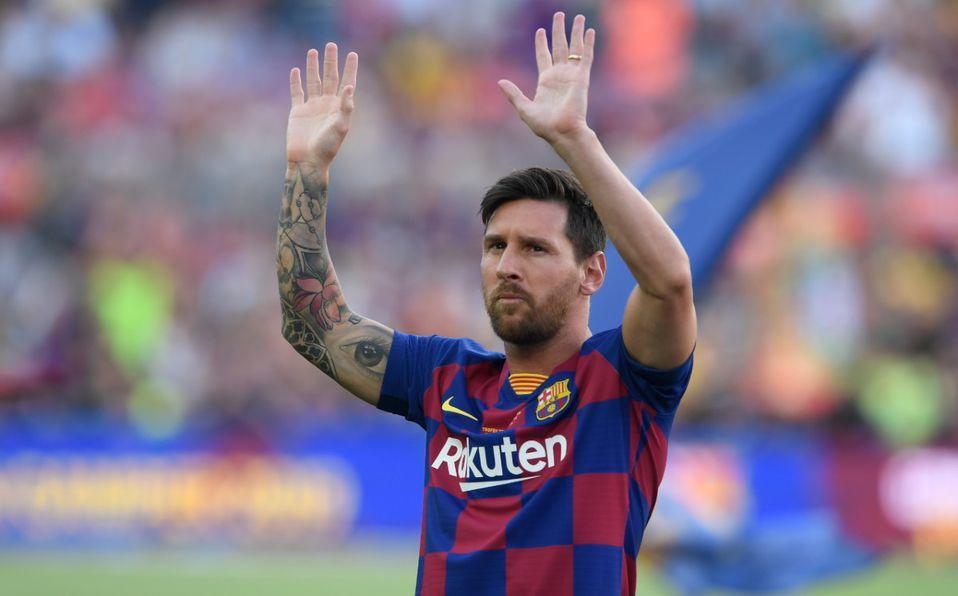 Messi habría grabado video anunciando que se queda en Barcelona