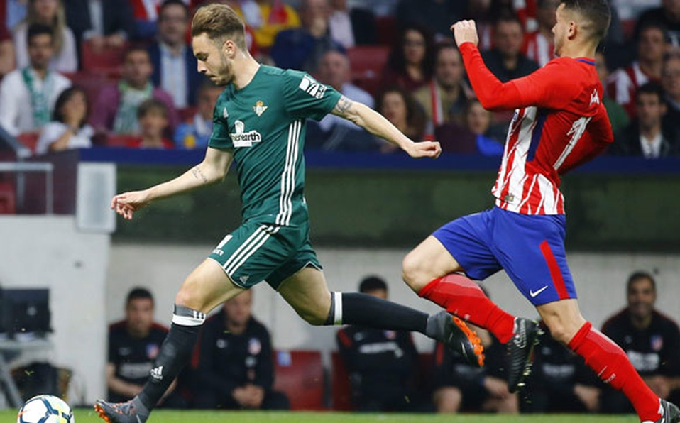 Real Betis de Joel Campbel saca un empate ante el Atlético