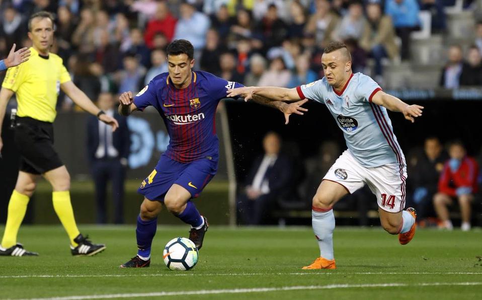 Barcelona empata en al Celta, mantiene invicto y se acerca al título