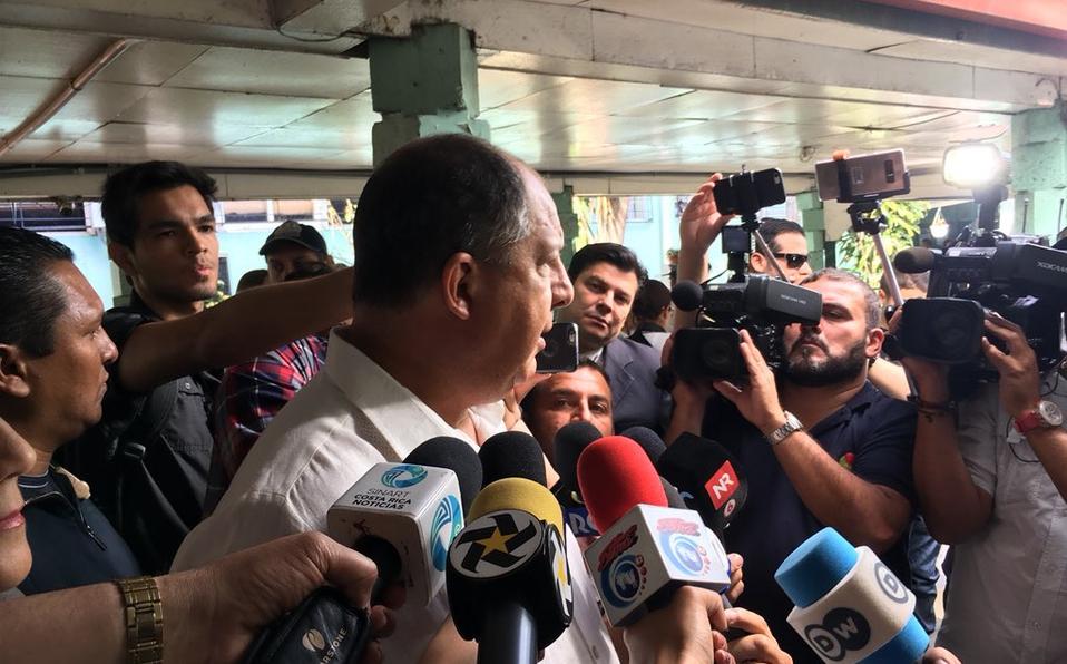 (+VIDEO) Presidente Solís llamó aponer fin a