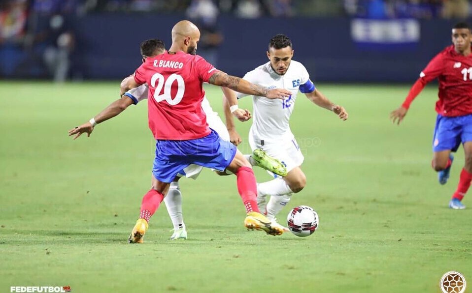 Costa Rica y El Salvador enfrentaron último ensayo previo a eliminatoria