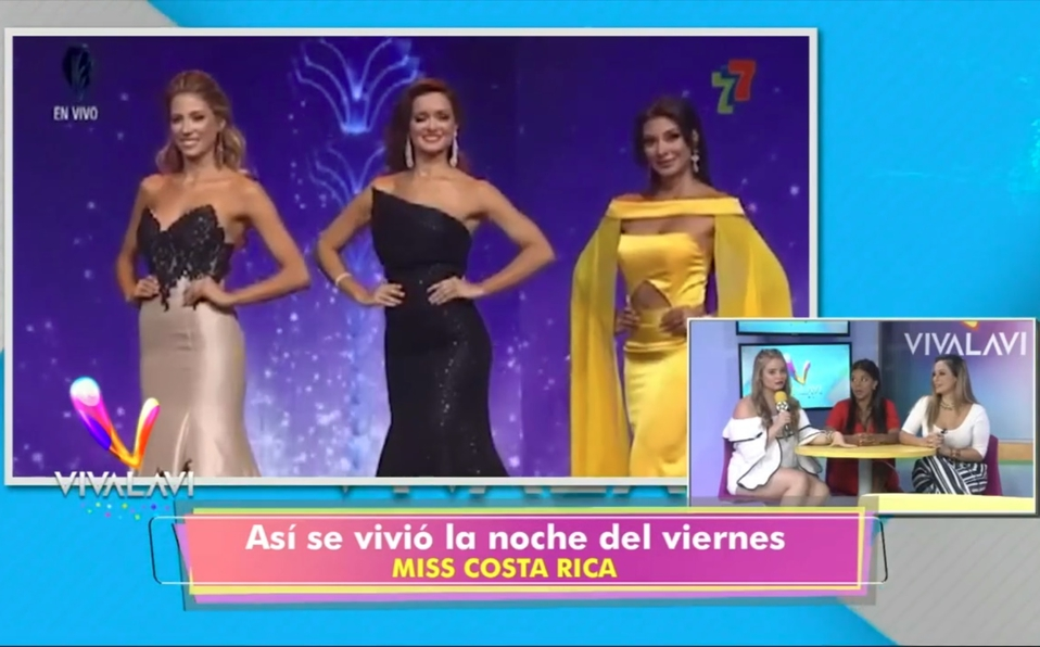 (+VIDEO) ¿Tenía ventaja Natalia Carvajal en elMiss Costa Rica?