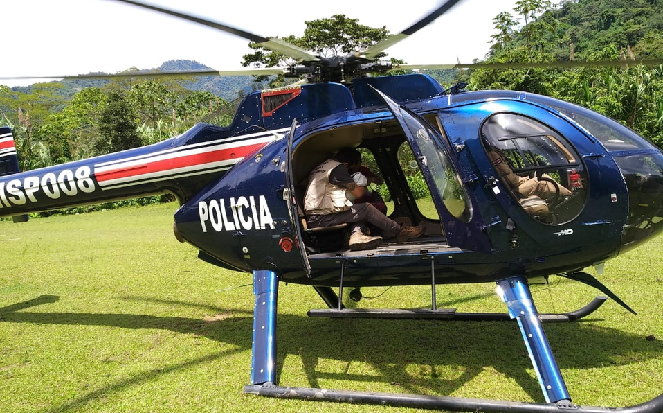 Foto: Dirección del Servicio de Vigilancia Aérea