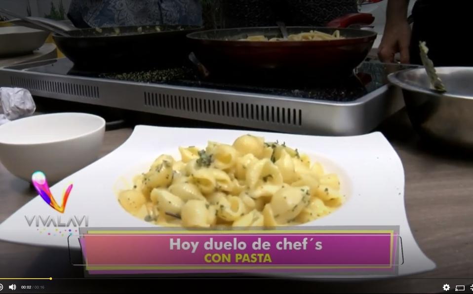 (+VIDEO) Aprenda a hacer pasta con queso