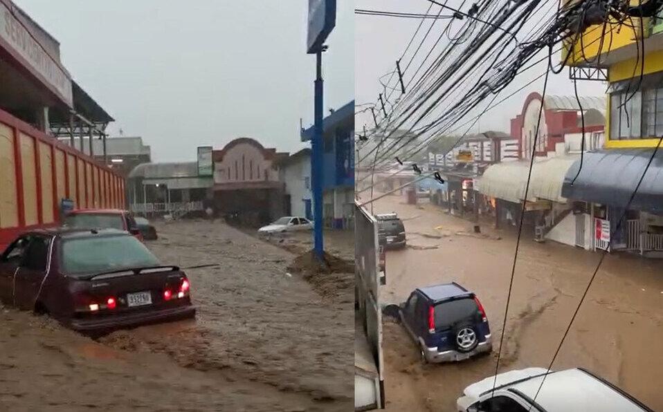 Fuertes lluvias generan inundaciones en varias zonas de Costa Rica. (Foto: Archivo)