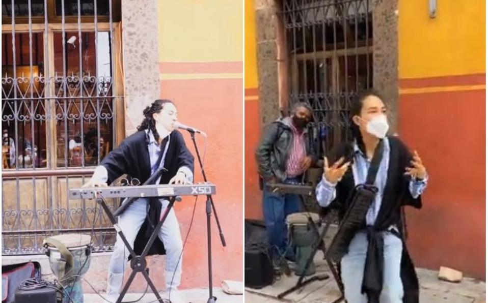 Flor Amargo vivió un momento muy tenso en las calles de San Miguel de Allende.   YouTube