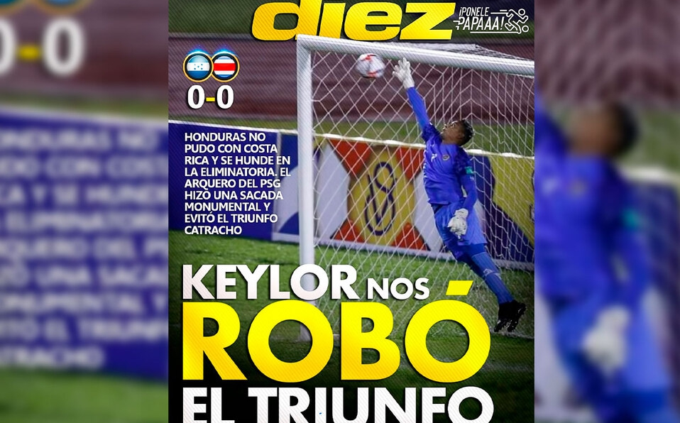 Este jueves la selección nacional jugó contra el equipo hondureño