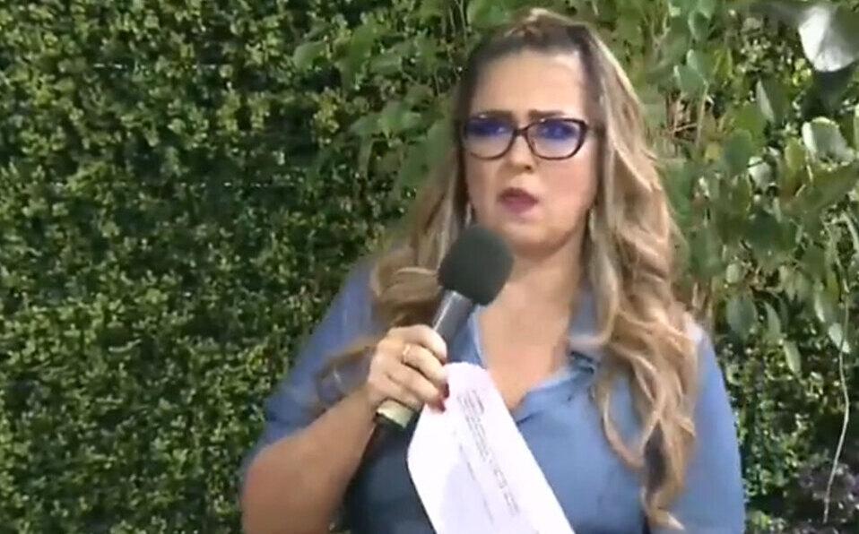 Video muestra cuando Maureen Salguero sufrió un microinfarto cerebral durante programa en vivo