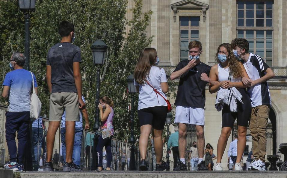 Francia reporta casi 9 mil nuevos casos de coronavirus
