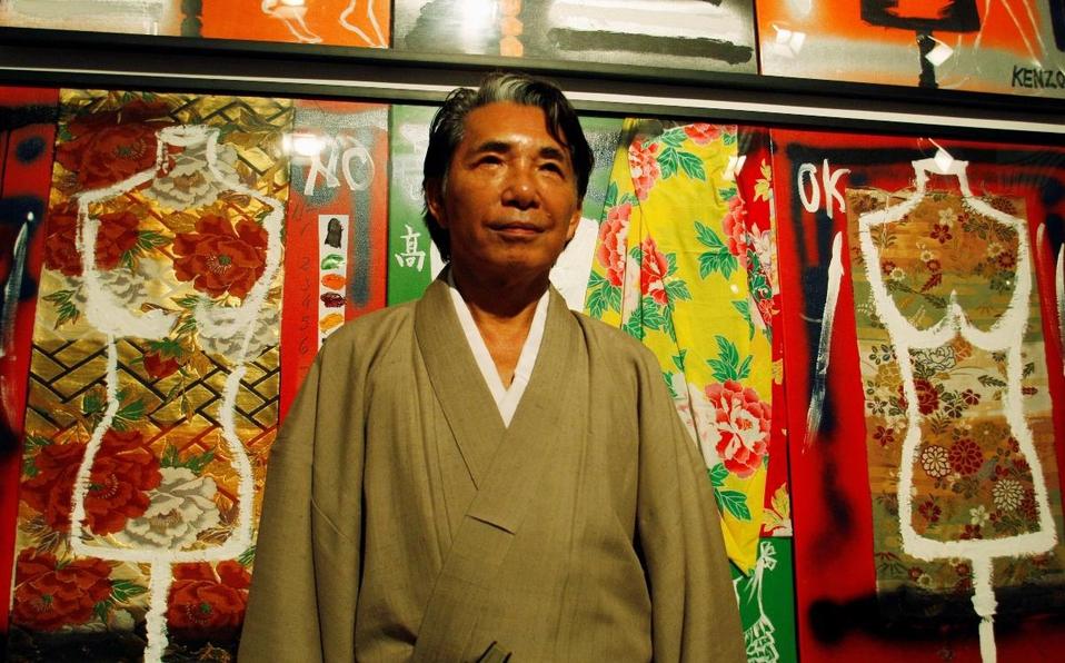 Kenzo Takada murió a los 81 años de edad. | Reuters