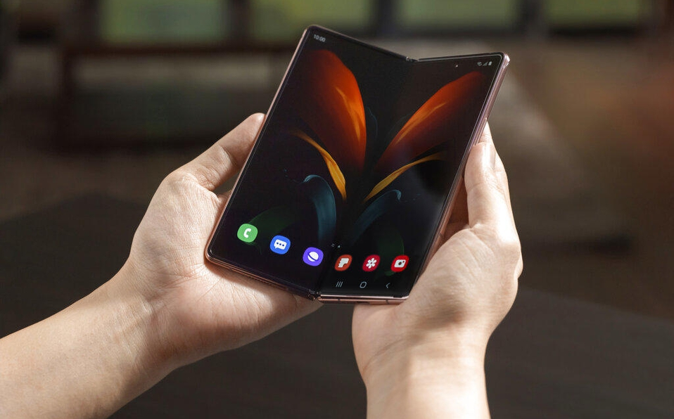 Samsung revela detalles de su nuevo celular plegable de 2 mildólares