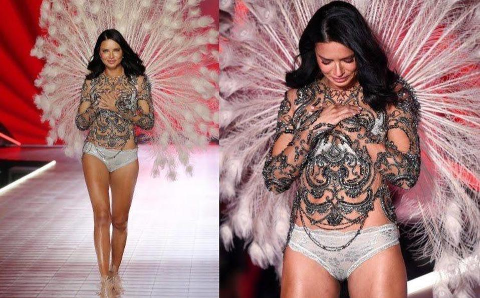 (+VIDEO) De una forma muy emotiva, Adriana Lima se retira de Victoria's Secret