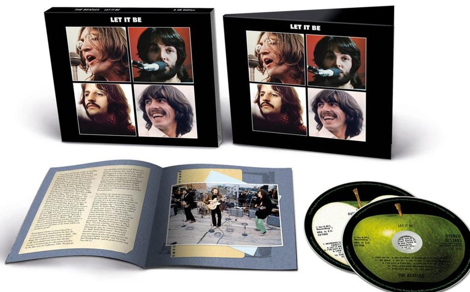 El álbum Let it be ha sido mezclado de nuevo por el productor Giles Martin y el ingeniero Sam Okell