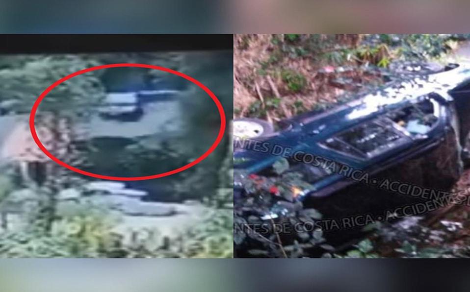 El accidente quedó grabado por un cámara de seguridad. (Foto: Cortesía)