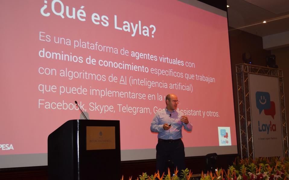 Robot Layla presentado oficialmente