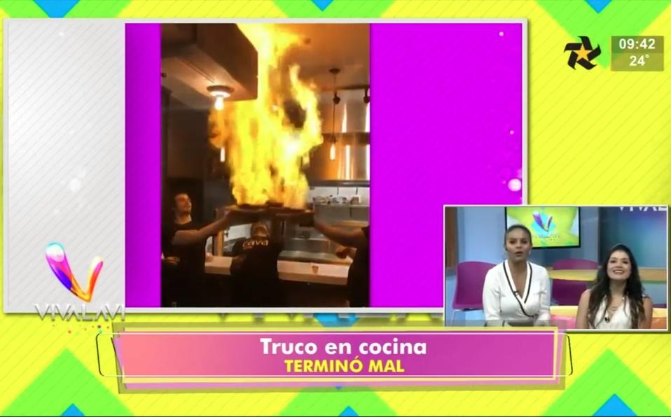 (+VIDEO) Cocina de alta temperatura y el apagafuegos