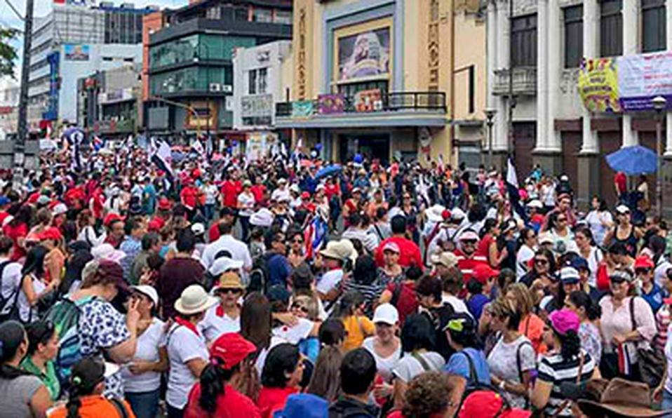 Sindicatos convocan gran marcha para el próximo miércoles