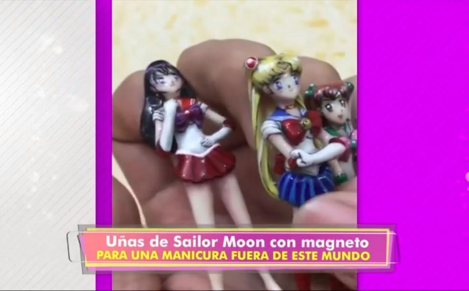 (+VIDEO) El anime se lleva hasta en las uñas