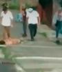 Agreden violentamente a indigente en Pavas