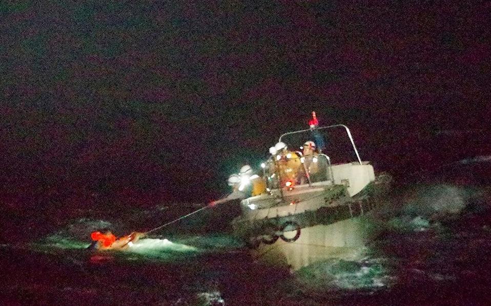 Naufragio de barco deja más de 40 tripulantes desaparecidos cerca de Japón