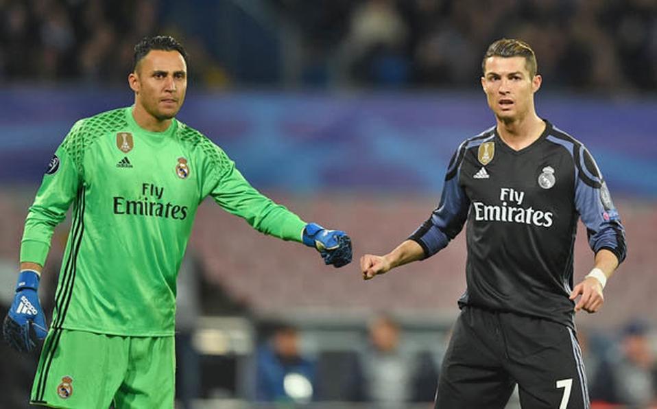 Keylor Navas en la lista negra de Cristiano Ronaldo