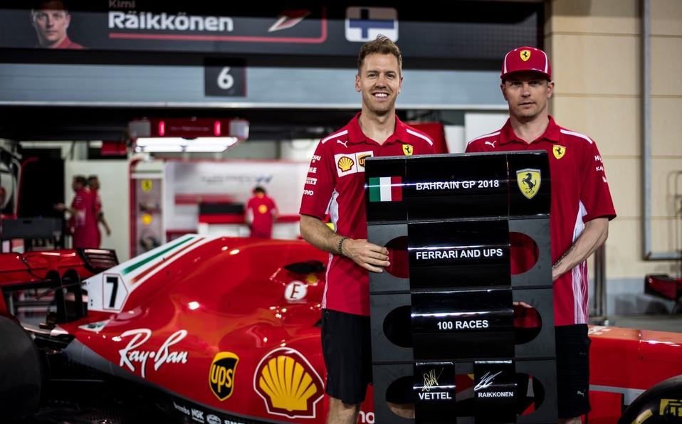 Vettel se queda con la primera posición del Gran Premio de Bahréin