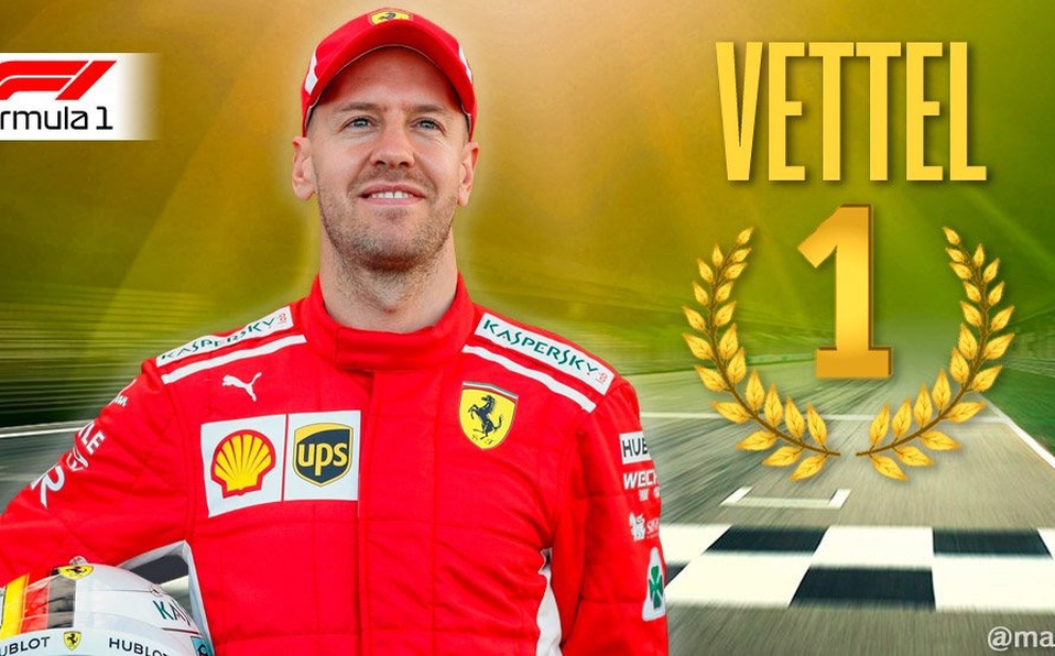 Vettel gana Gran Premio de Bahréin para Ferrari