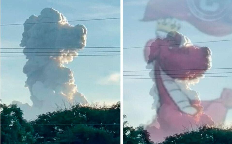 """Comparan erupción del volcán Rincón de la Vieja con """"señal divina"""" del Saprissa"""
