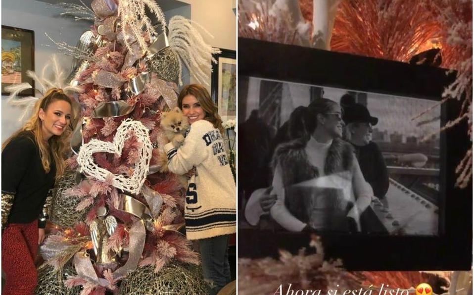 Decora Andrea Escalonasu árbol de Navidad en honor a Magda Rodríguez