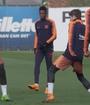 Dembélé se gana los aplausos de Messi