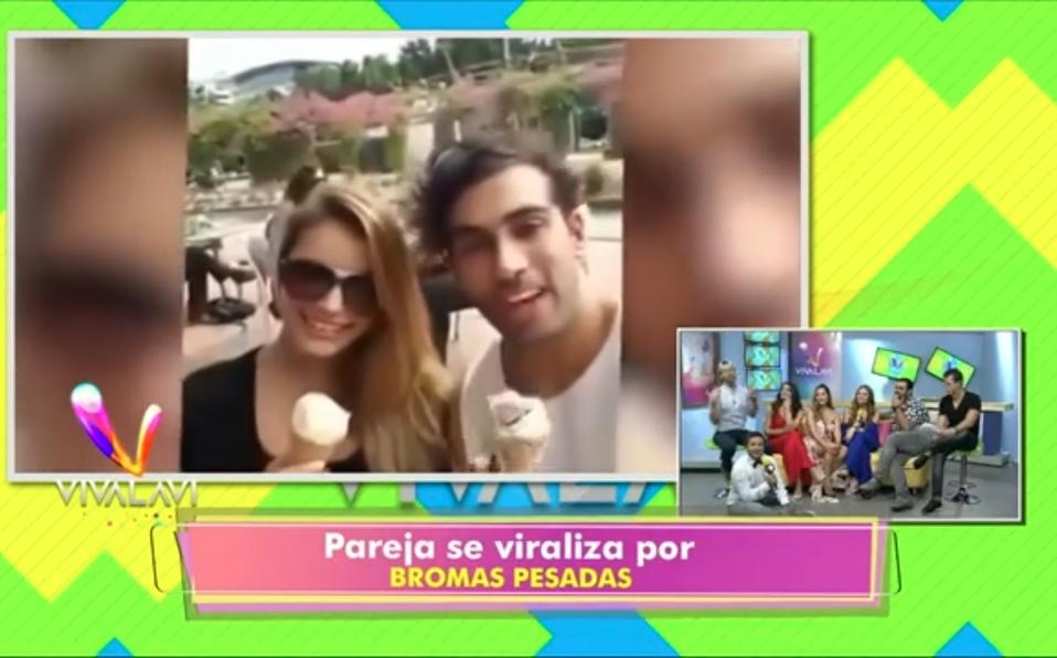 (+VIDEO) Esta pareja se hizo viral por susbromas pesadas