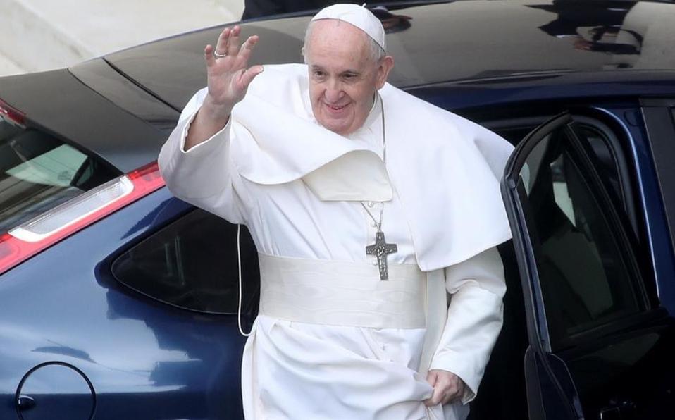 Papa Francisco sufre de