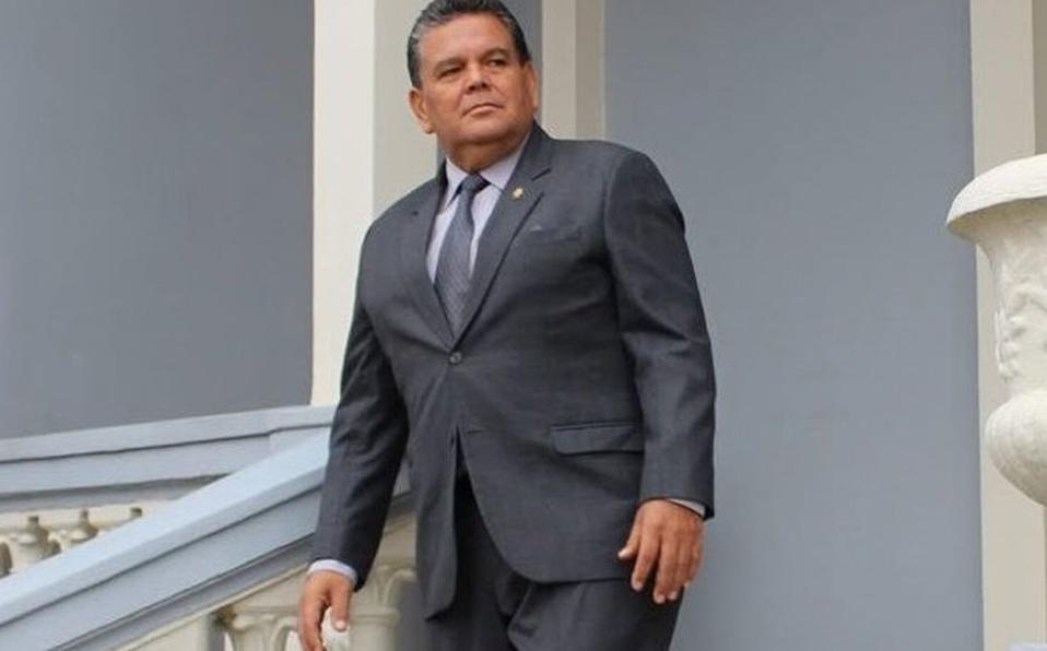 El legislador estaba delicado por COVID-19. (Foto: Rodolfo Peña)
