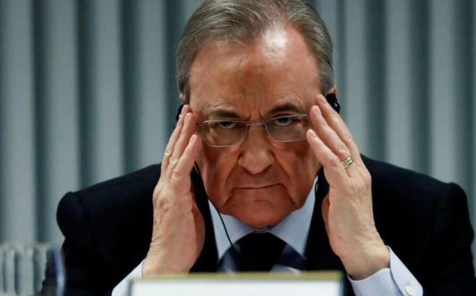 Florentino Pérez en escándalo por audios filtrados. (Foto: ARCHIVO)
