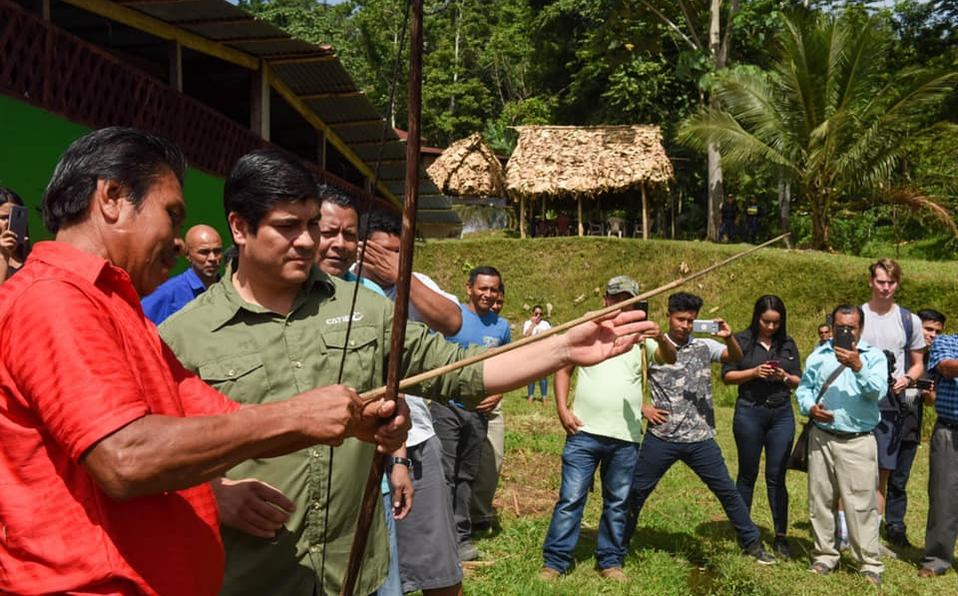 (+FOTOS) PresidenteAlvarado participa en Juegos Deportivos Indígenas 2018