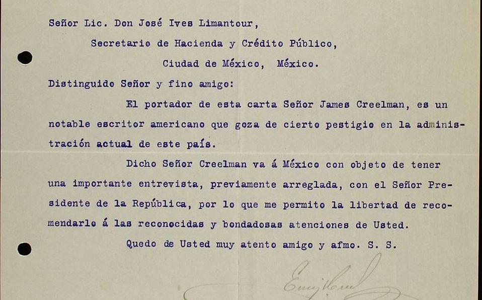 Esto decía la carta con la que Porfirio Díaz renunció a la presidencia