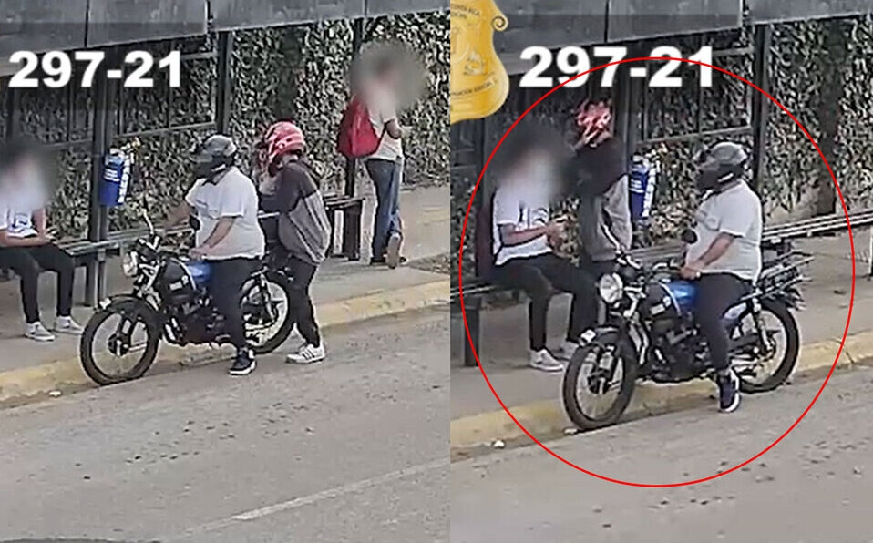 En solo 30 segundos, asaltan a persona en parada de buses en Curridabat