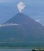 El Volcán Arenal presento una leve acividad esta mañana. (Foto: Archivo)