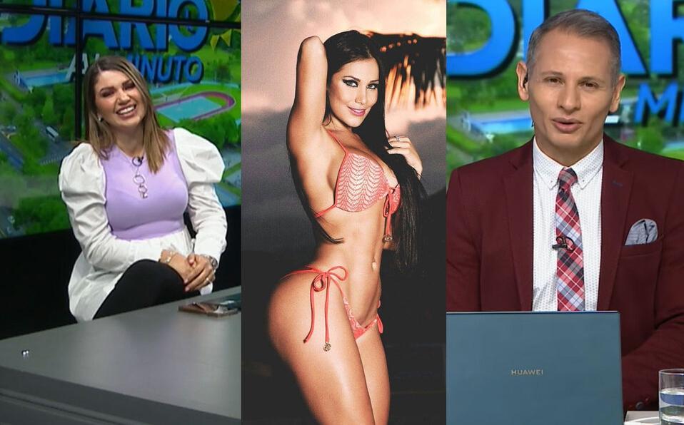 Alejandro Ramírez llama Melissa Mora a Melissa Durán en vivo | VIDEO