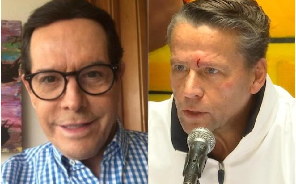 Alfredo Adame reapareció en una entrevista virtual con Chisme No Like.   Instagram @JuanJoseOrigel / Agencia México