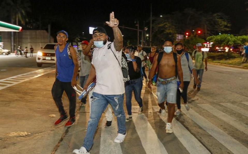 Cientos de migrantes salen de Honduras en plena pandemia